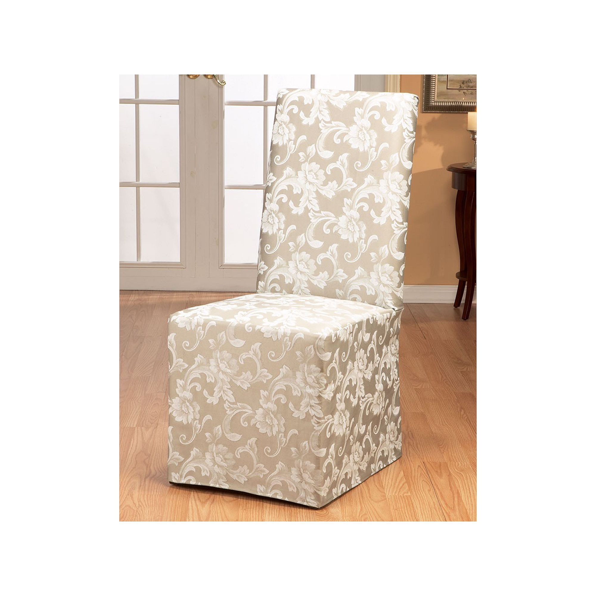 Surefit Chair Covers Sure Fit Scroll Leaf Dining Chair Slipcover Products Dining