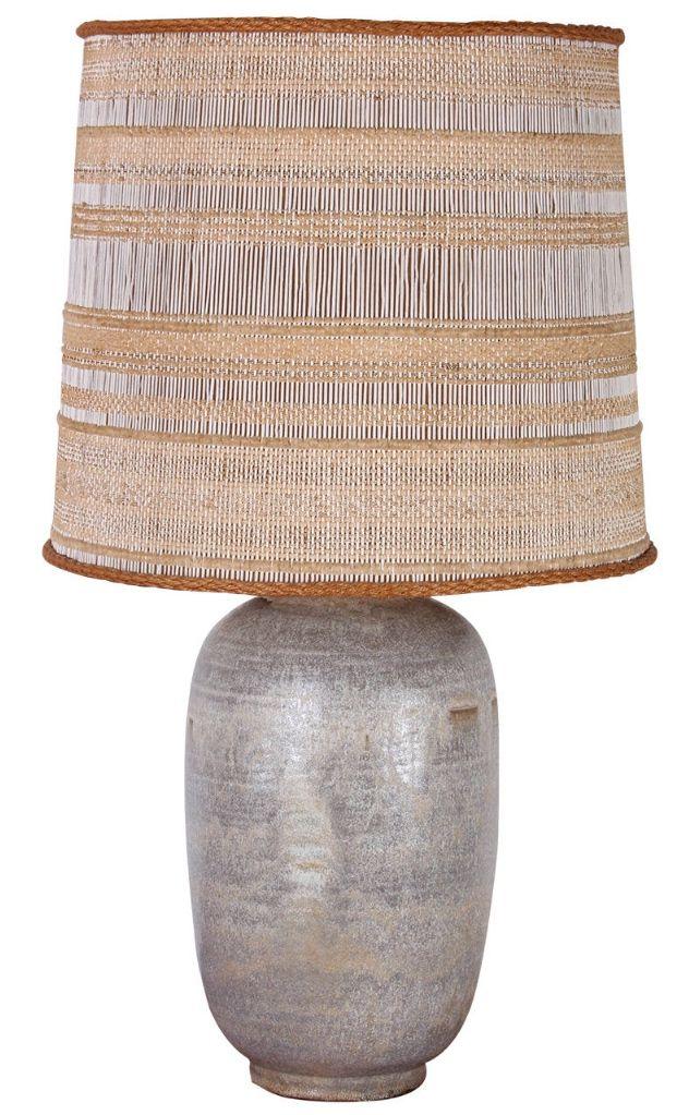 Ceramic Table Lamp Maria Kipp Shade C 1960 Lamp Kitchen Light Shades Ceramic Table Lamps