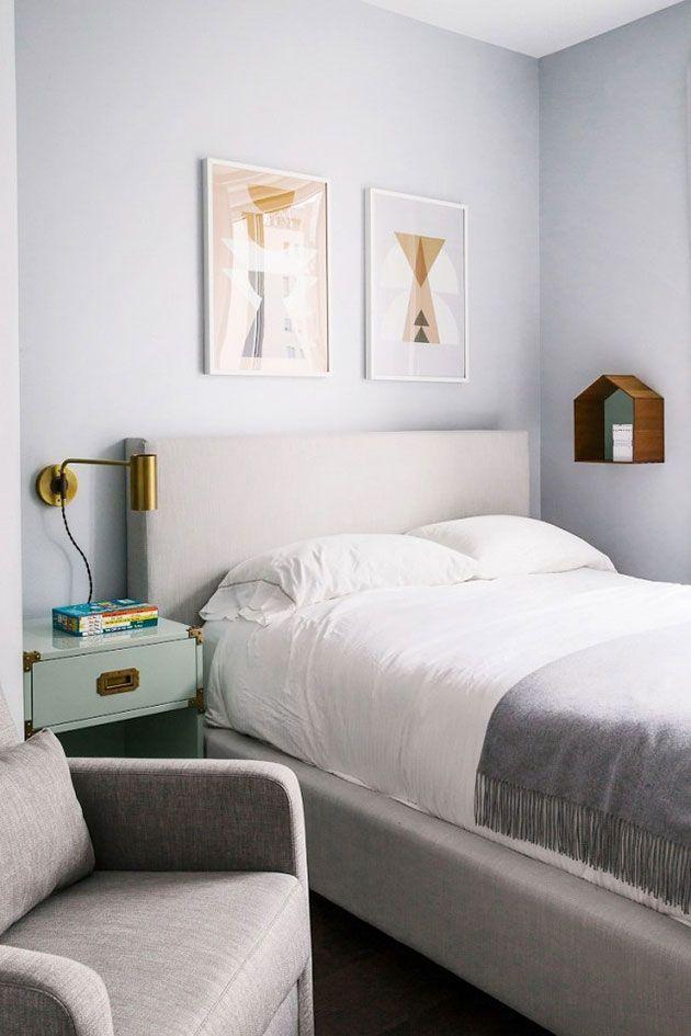 29 colores perfectos para habitaciones dormitorio pinterest bedroom bedroom paint colors - Habitaciones pintadas de gris ...