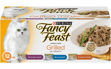 Purina Fancy Feast Grilled Cat Food Variety Pack 1.020 Kg