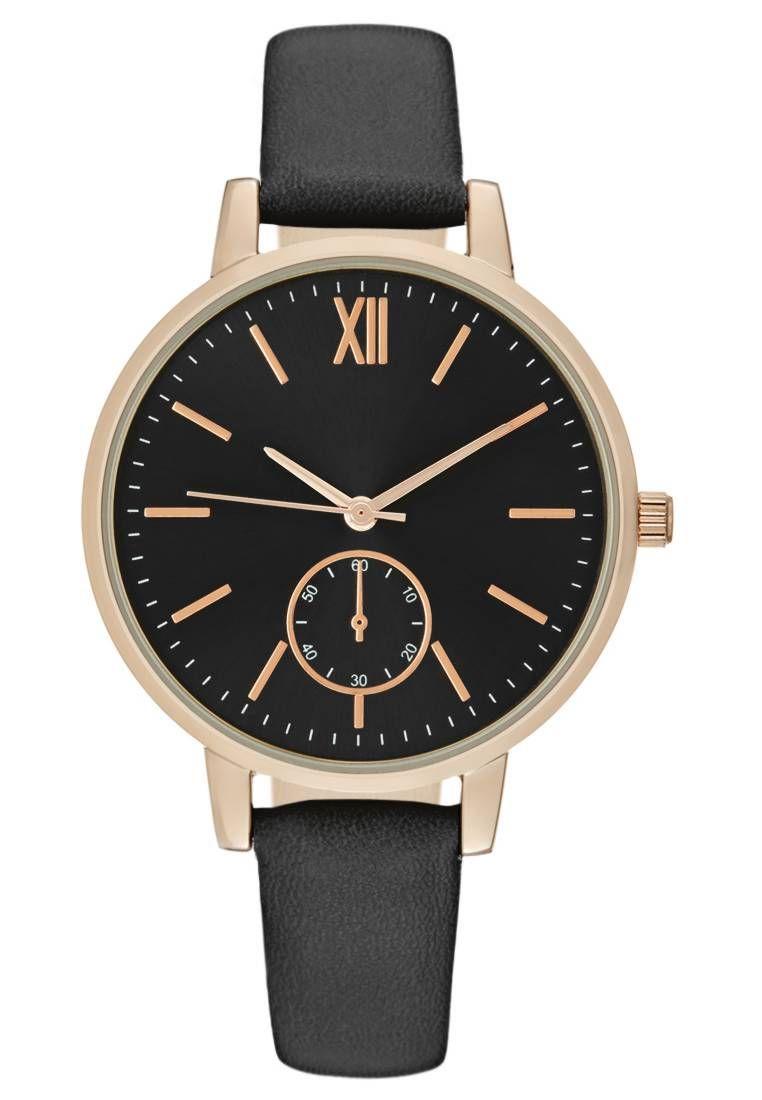 premium selection 04c6f 5549a Uhr - black @ Zalando.de 🛒   Zalando ♥ Damen Armbanduhren ...
