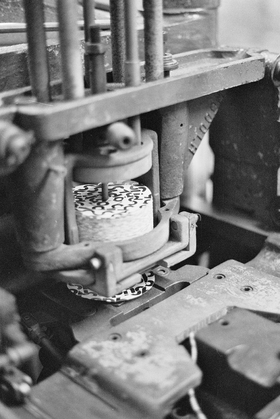 Labels loaded ready to press vinyl-pressing-plants com