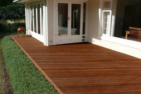 Hardwood Patio Decking Cape Town Ideas Image