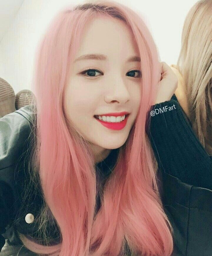 Bona WJSN Cosmic Girl Hair Color Edit
