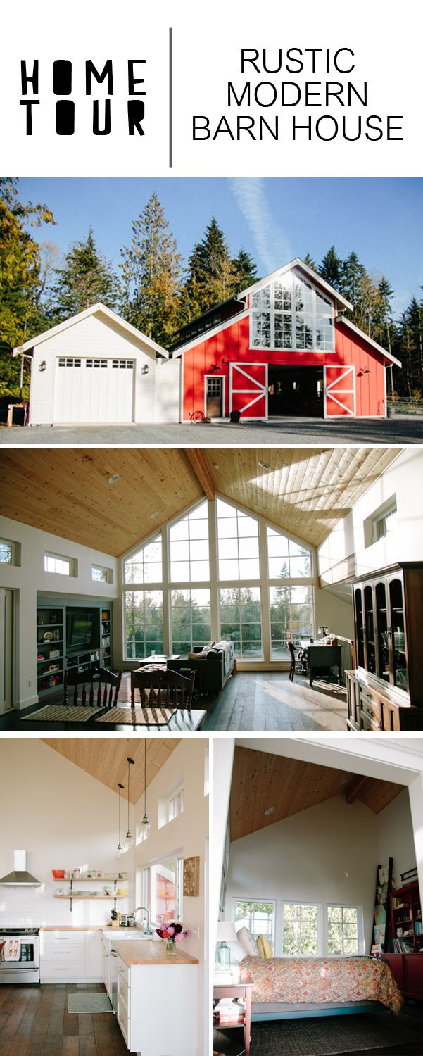 Minimal Barn House Tour | ~BEST of Pinterest Home Decor ... on shed house plans, rustic outhouse plans, rustic wood creations, pole barn plans, pond house plans, barn wood projects plans, rustic bungalow with guest house, rustic bathroom plans, pool house plans, rustic bed furniture, urban cottage house plans, farm style house plans, rustic bedroom furniture, shelter house plans, gingerbread cottage house plans, rustic homes, log cabin bird house plans, old farmhouse style house plans, gingerbread playhouse plans, barn building plans,