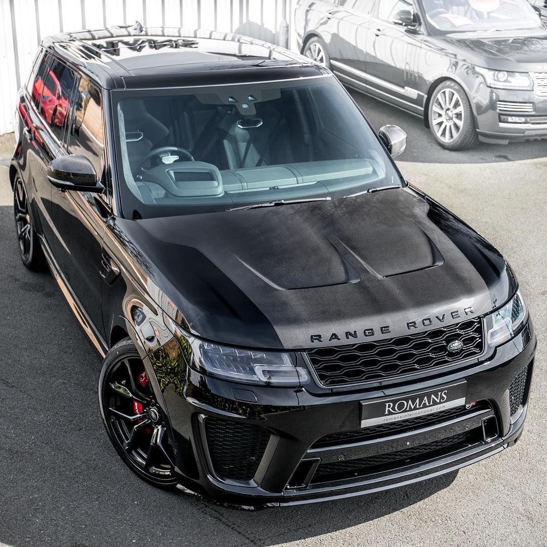 Romans International On Instagram Ultimate Spec 2018 Svr Carboneverywhere Yesyesyes Carbonbonnet Rangero Range Rover Sport Range Rover Range Rover Svr