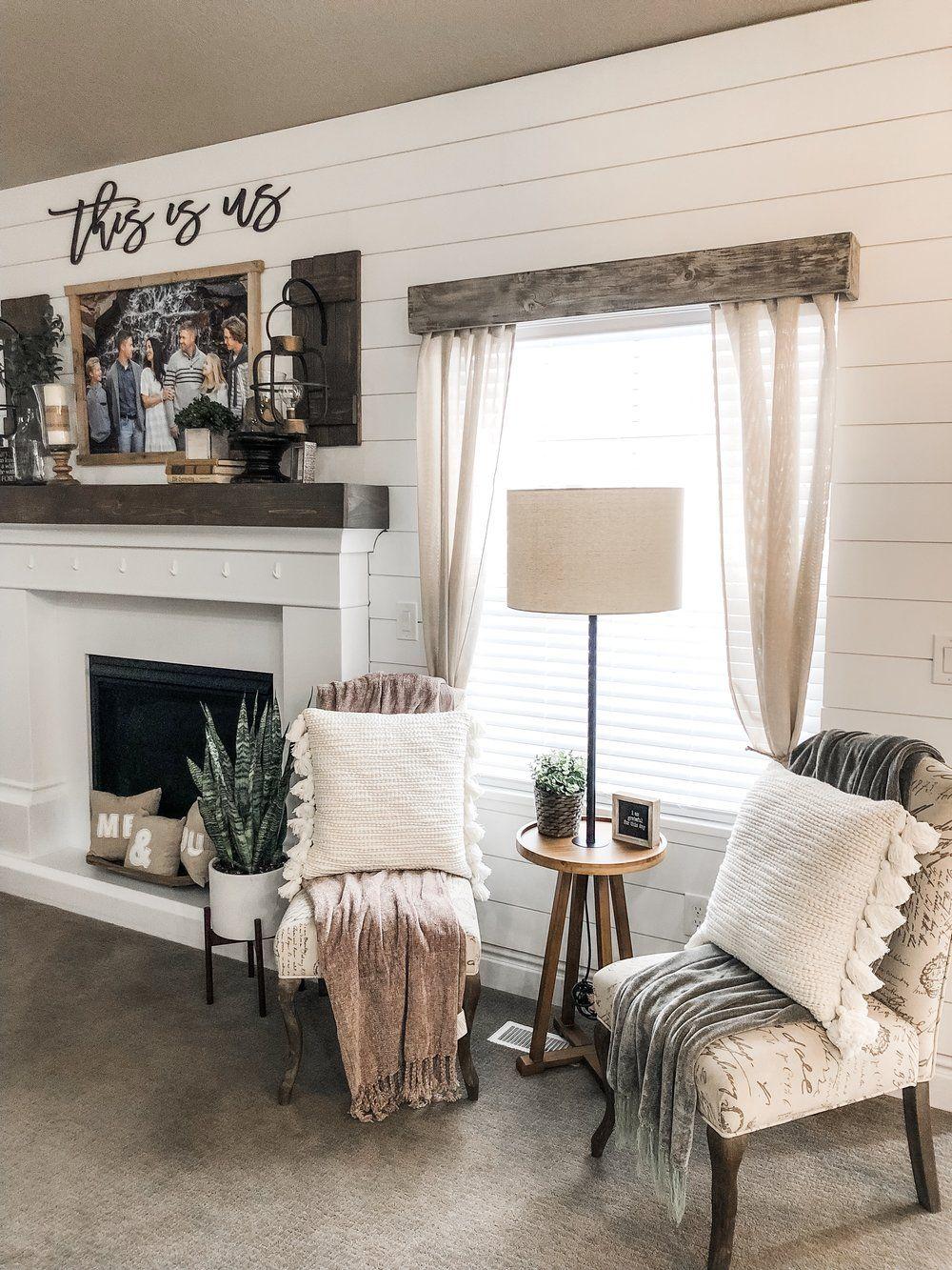 Beautiful & Bright in 12  Simple living room decor, Home decor