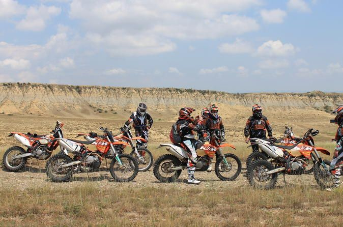 Enduro Tour in Georgia from Tbilisi Georgia's incomparable beauty of nature is a paradise for motorcycle tourists. You will never forget the roaring of motors, the fascinating steeps and slopes, the extreme landscape and the feeling of endless freedom luring you to ever new adventures. Tour starts, from Tbilisi city center, group will go to Rustavi international motor park, where you will have short break information about driving, safety insurance, you will have a drive...