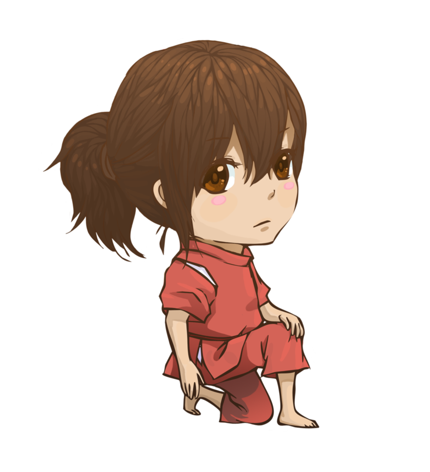 Chihiro Chibi It Rhymes By Graced For Art Chihiro