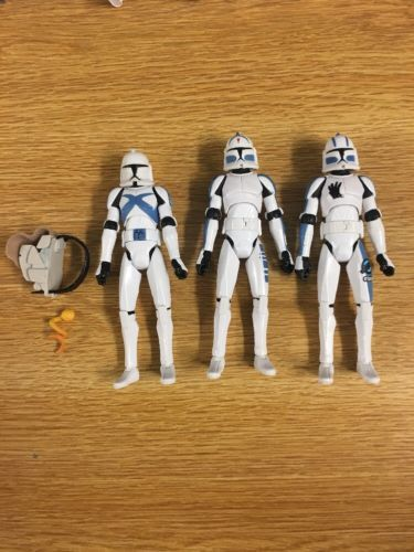 "Star Wars Wolfpack Commander Wolffe Clone Trooper 10/"" Loose Statue Figure"