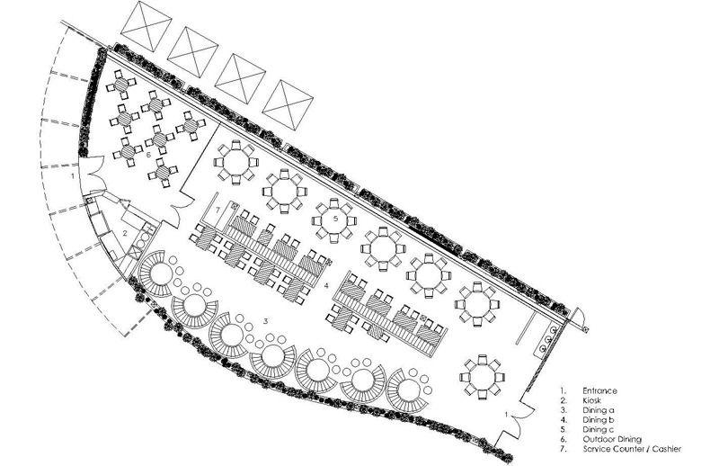 Jade Restaurant Aecs Layout : Restaurant plan for design students pinterest