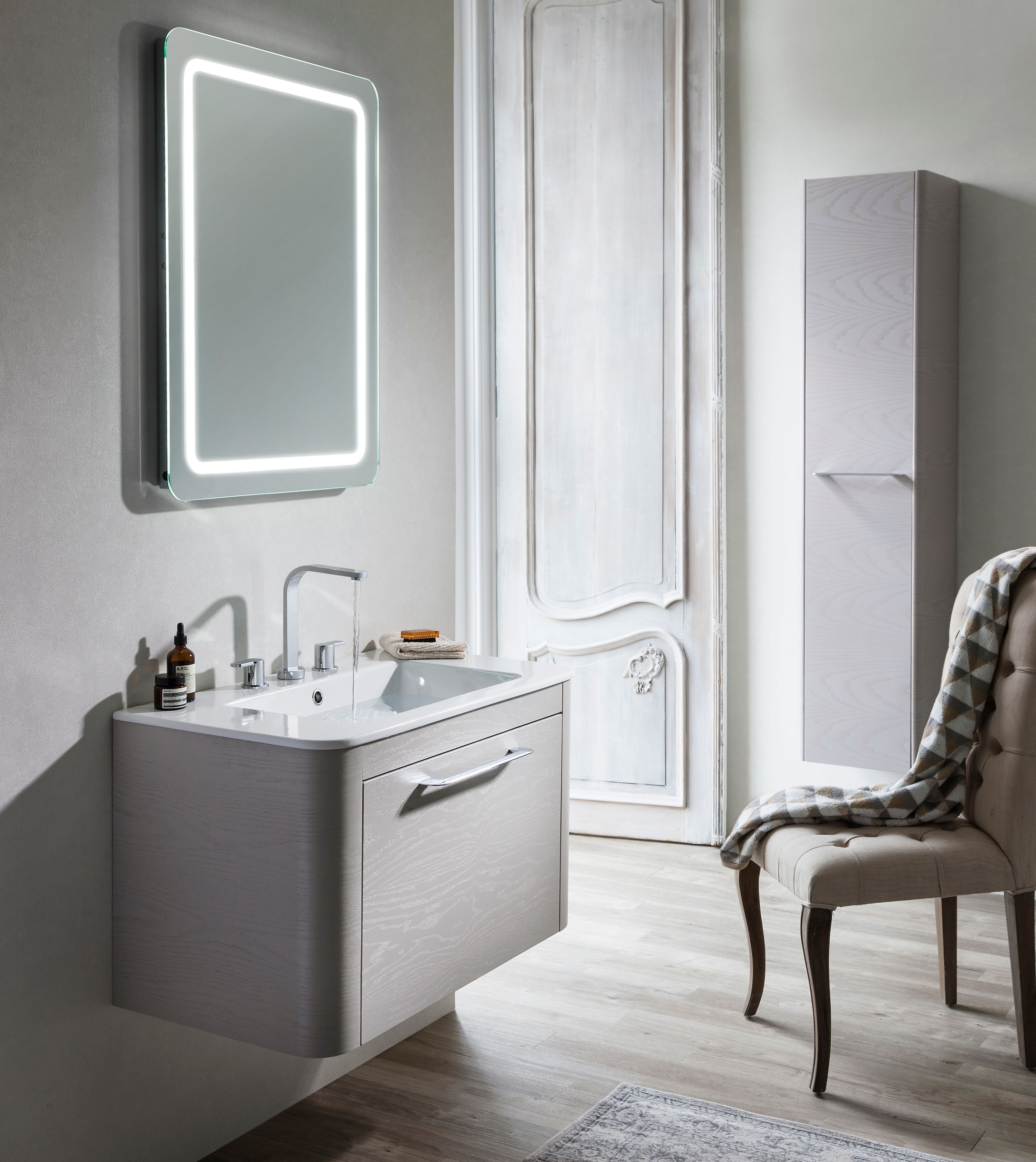 Crosswater Armaturen Bauhaus Elite Spiegel Slimline ...