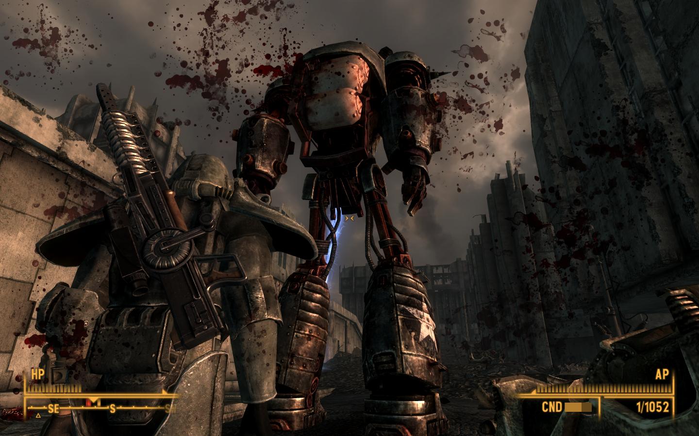 Fallout 3 Liberty Prime Video Games Wallpaper 156917 Wallbasecc