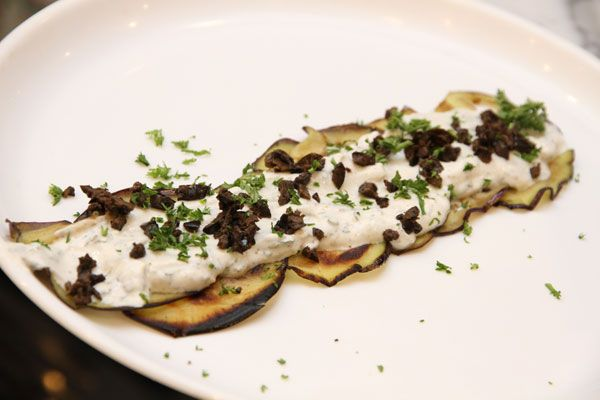 BE THE COOK YOU WANTED TO BE Grilled aubergine in Mint-Cinnamon sauce http://clubm.in/?q=food-drink/be-cook-you-wanted-be