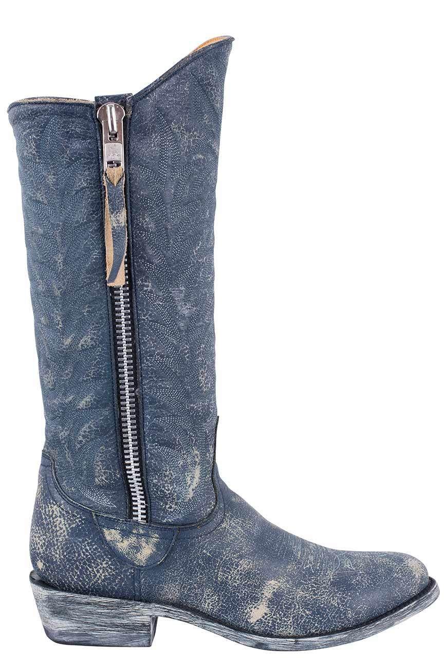 9ad9b83d35f OLD GRINGO WOMEN'S BLUE CRACKLE RAZZ BOOTS | Women's Western Boots ...