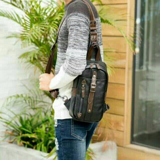 Temukan Dan Dapatkan Import Slingbag American Style Mens Tas