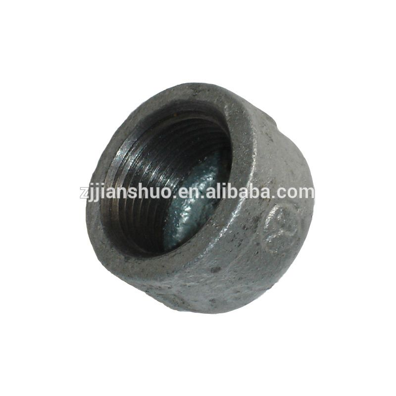 iron pipe connector round aluminum tubing hotcold and black dipped galvanized casted cap malleable iron pipe fittings for wateroilgastube connection