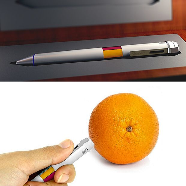 Scribble Pen With Its Built In Scanner Scribble Lets You