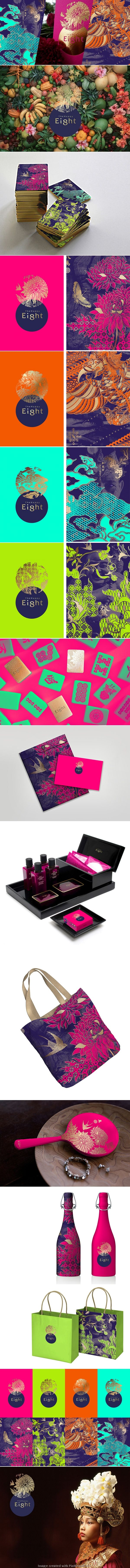 Who could resist this stellar Happy Eight Hotel #identity #packaging #branding curated by Packaging Diva PD #2014 top pin