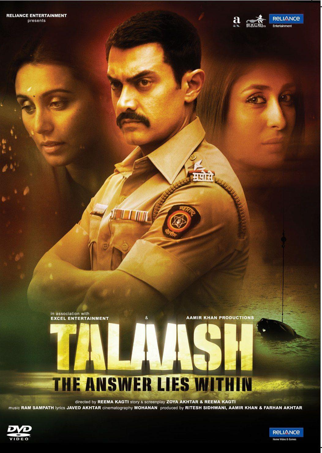 Talaash 2012 Hindi movies, Film, Bollywood