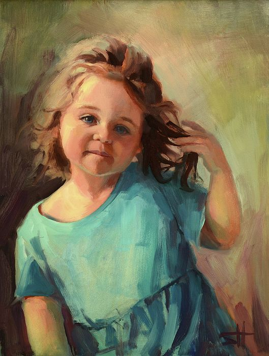 Kymberlynn By Steve Henderson Children In Art Artwork Art