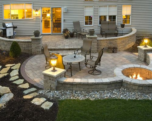 Paver Patio Ideas, Pictures, Remodel and Decor