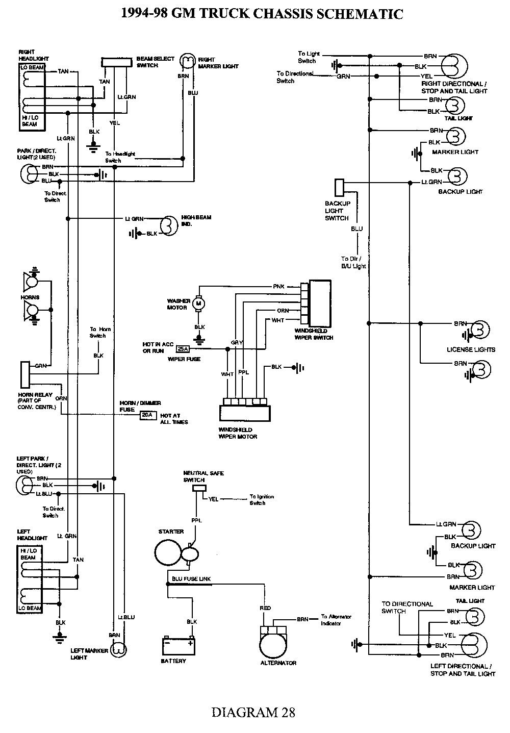 32 Wiring Diagram For Electric Brakes Chevy silverado