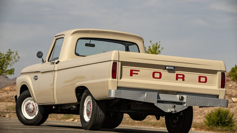 Old Ford Truck Sheet Metal