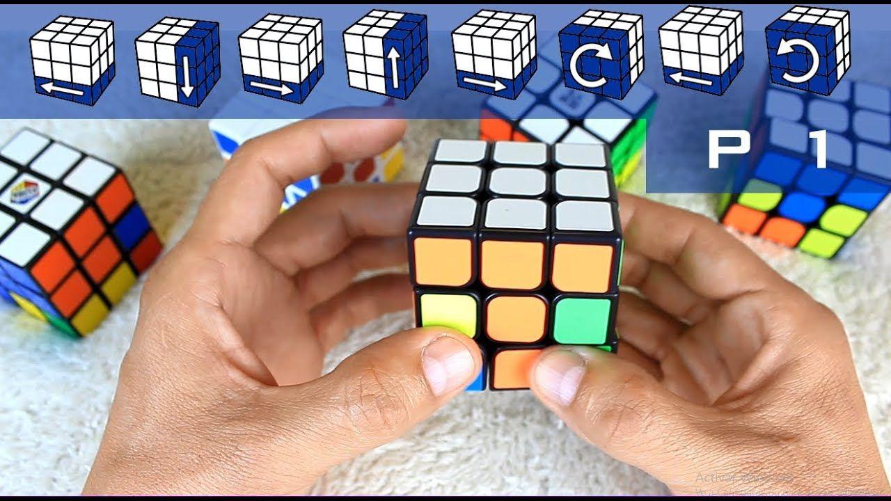 Como Armar Un Cubo Rubik Principiantes Parte 1 De 3 Como Armar Un Cubo Resolver Cubo De Rubik Como Armar Cubo Rubik
