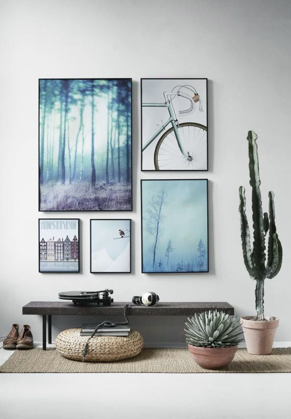Awesome 10 Tips To Master Your Modern Photo Wall (Home Decorating Trends)