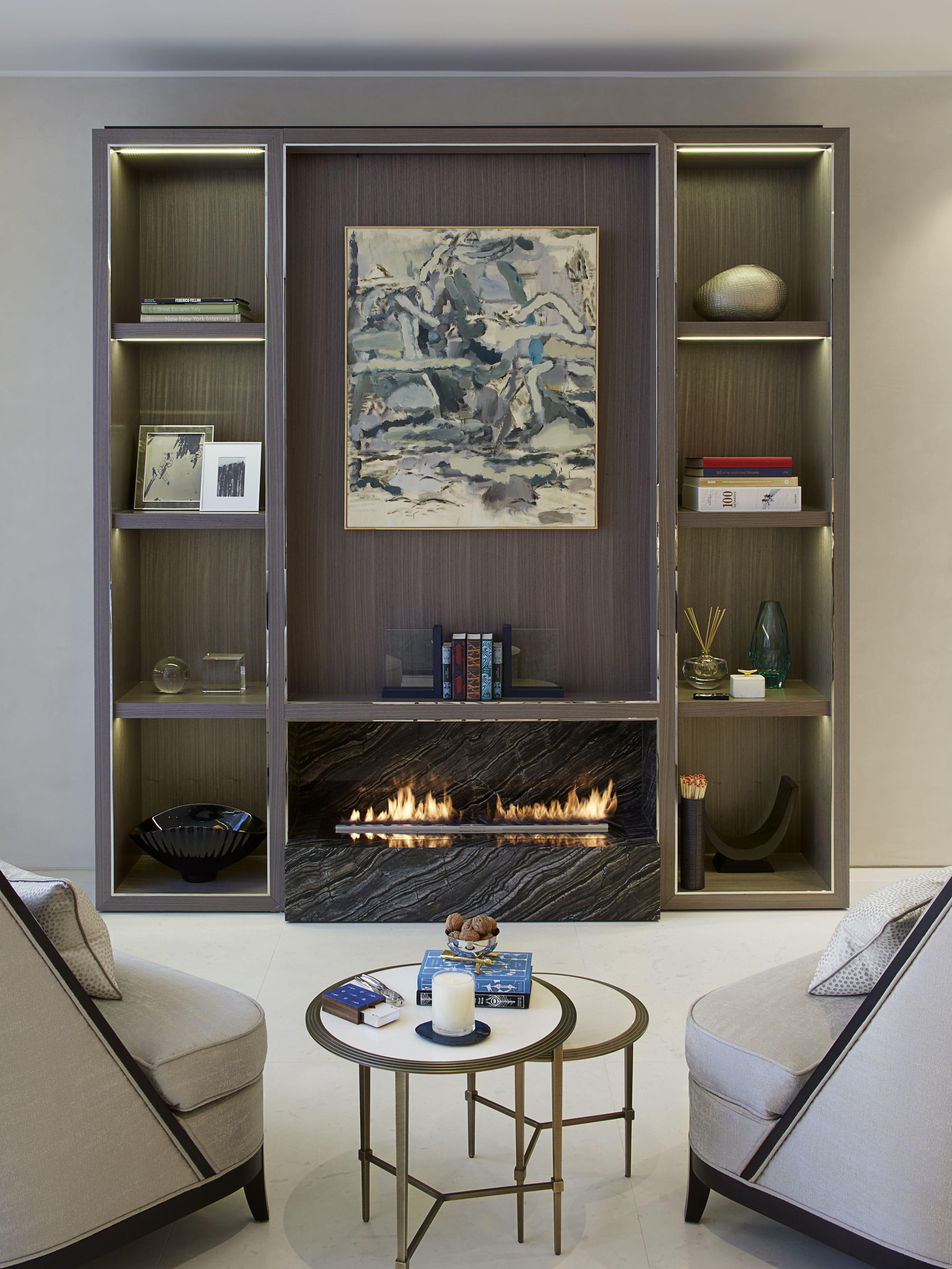 Living Room, Ashberg House, Chelsea - designed by Morpheus London