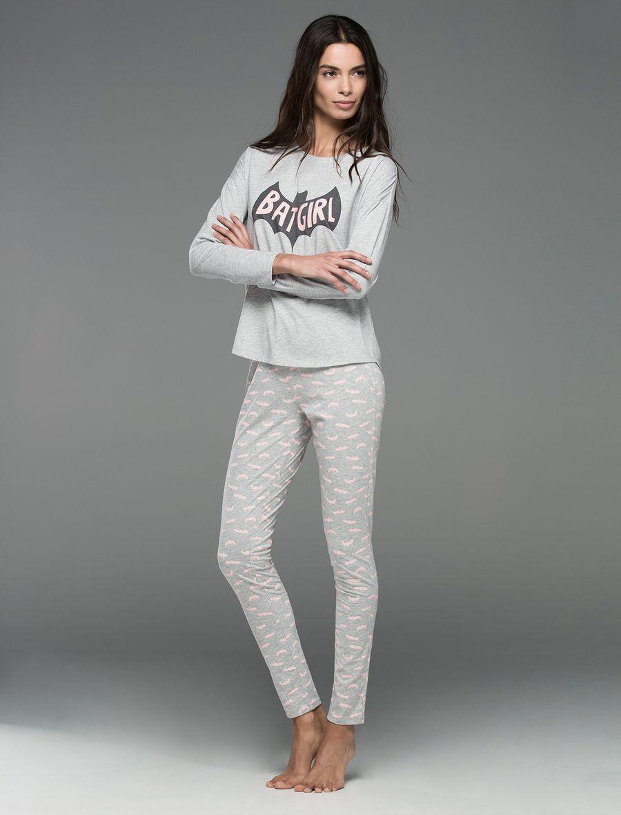 Fashion · Womensecret. Pyjamas Long cotton pyjama Batgirl