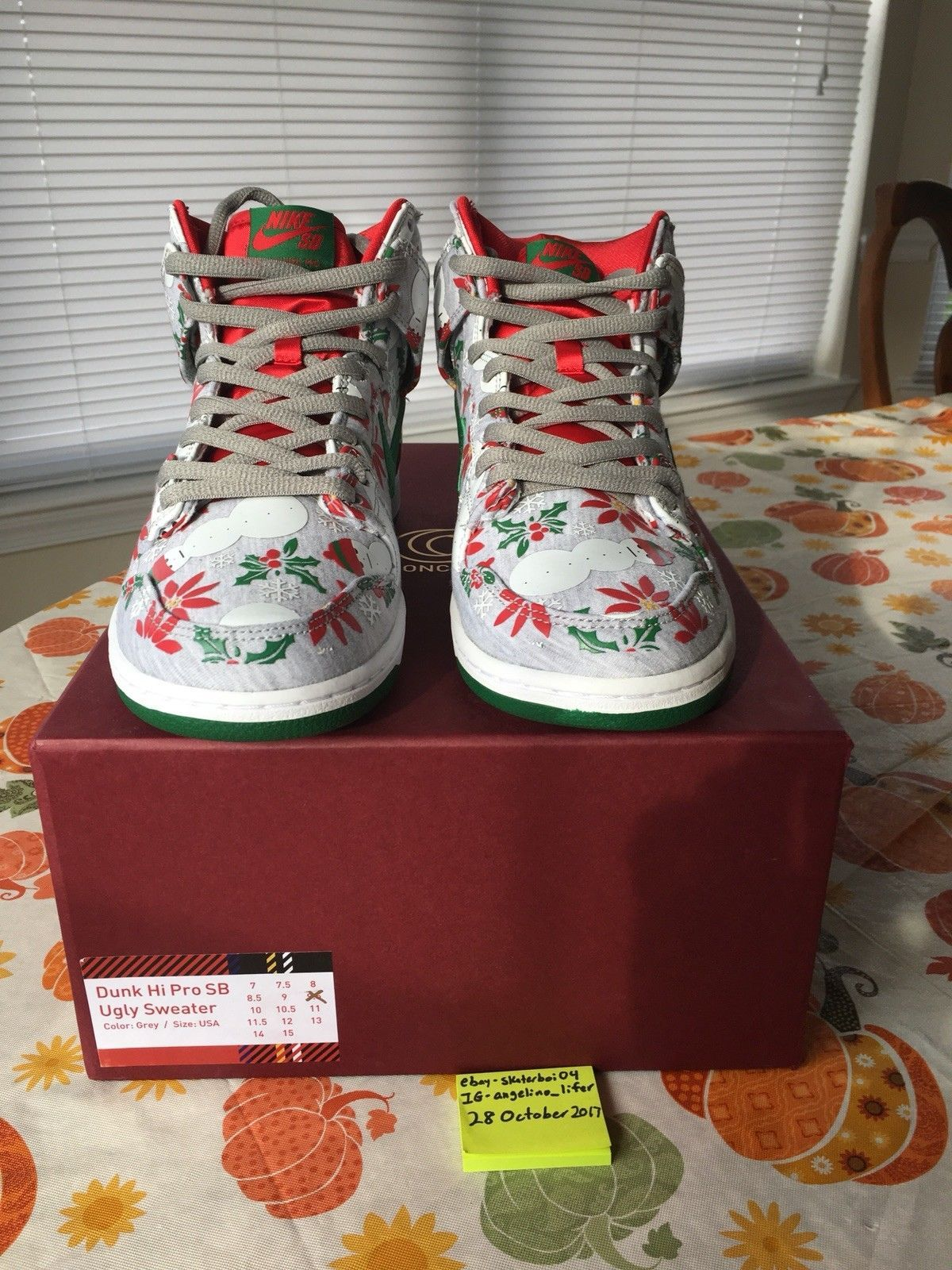 f59284a761eb7c NIKE SB CONCEPTS UGLY CHRISTMAS SWEATER dunk lobster supreme skunk hulk mf  doom