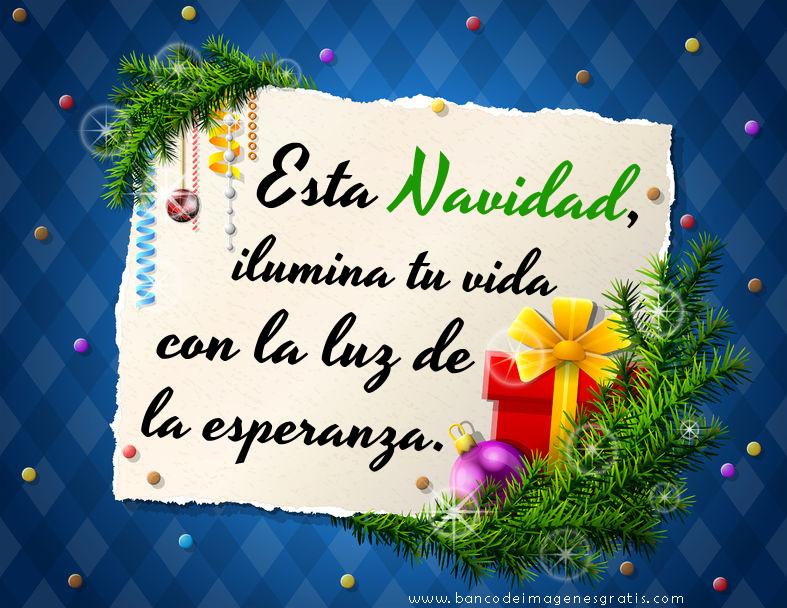 mensajes+navide%C3%B1os+esta+Navidad+ilumina+tu+vida+con+la+luz+de+la+esperanza.png  (787×608) | Christmas pictures, Christmas time, Christmas decorations