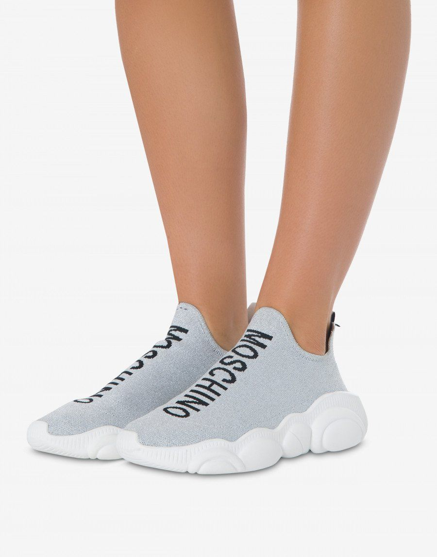 Lurex Teddy Run sneakers - Sneakers