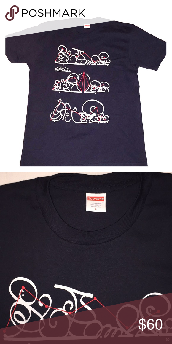 c35569833668 Supreme System Tee NWOT Cotton Tee Supreme Shirts Tees - Short Sleeve
