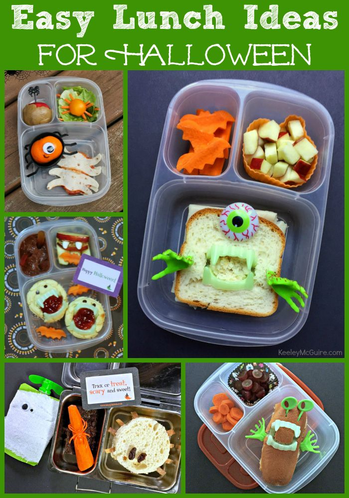 Gluten Free Allergy Friendly Halloween Lunch Box Ide