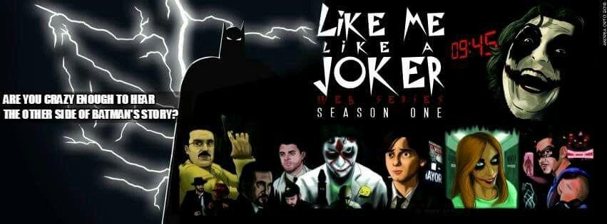 Un colorato cantastorie racconta di Gotham City. #LikeMeLikeAJoker #RWF