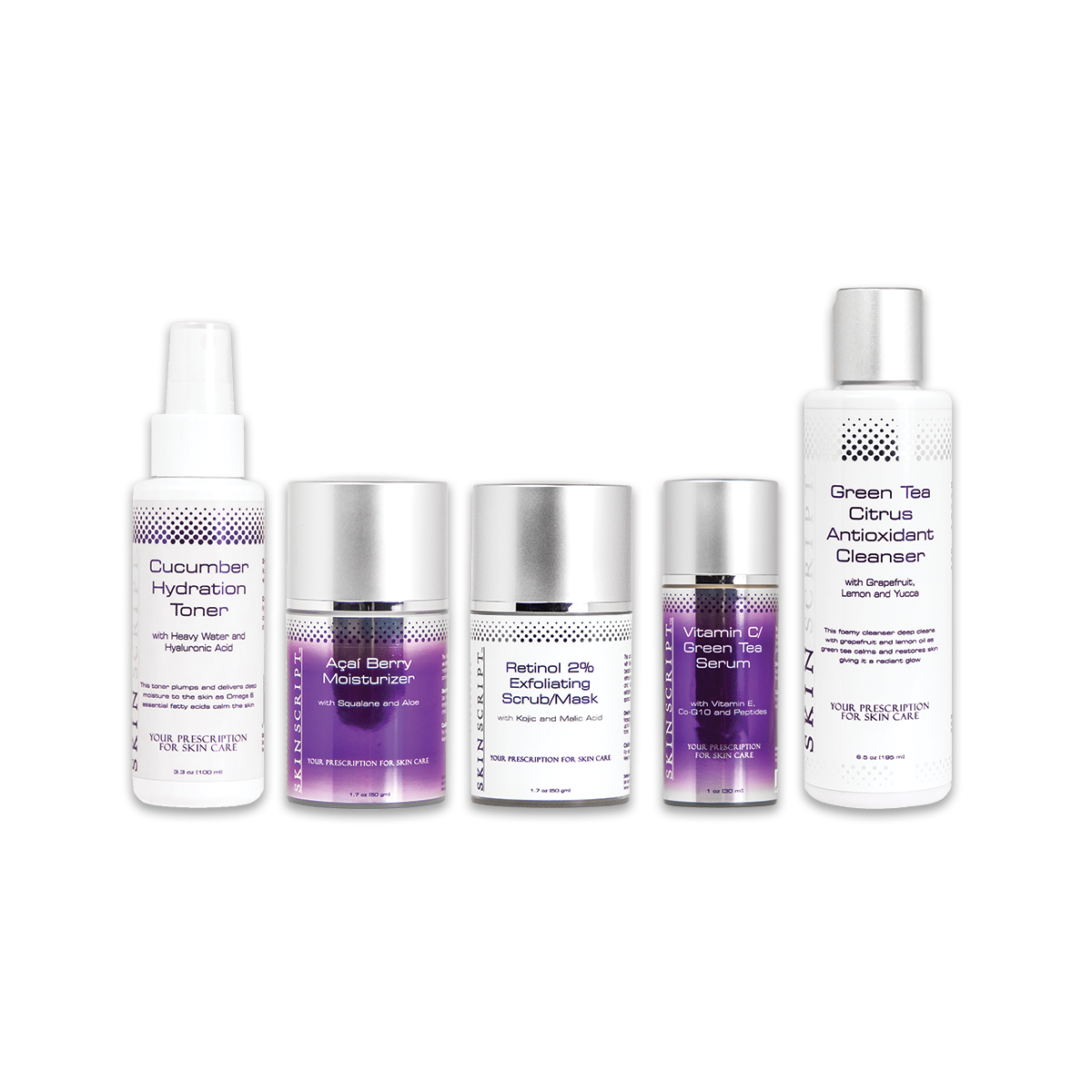 Rosacea/Sensitive Skin Kit Skin script, Sensitive skin