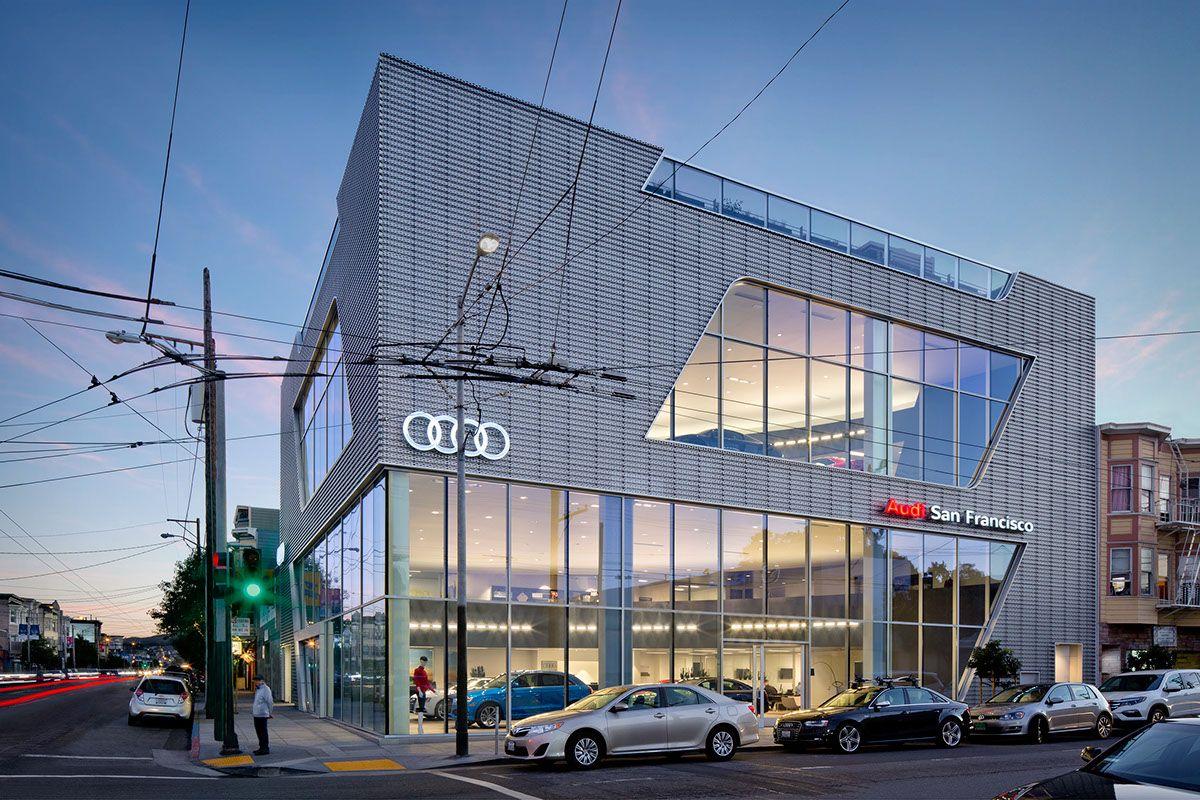 Audi San Francisco >> Audi San Francisco On Behance Audi San Francisco Showroom