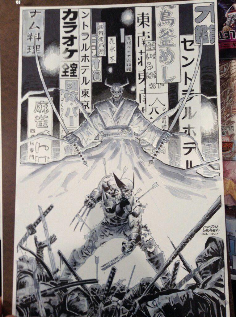 Wolverine by Dustin Weaver