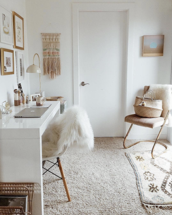 10 ways to style rugs over walltowall carpeting