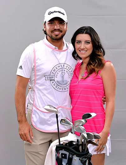 PGA Tour Wives Classic Golf Tournament: Jason and Ellie Day