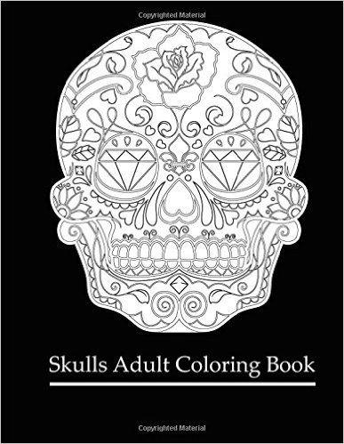 Libro de calaveras para colorear - DECALAVERAS | Art | Pinterest ...