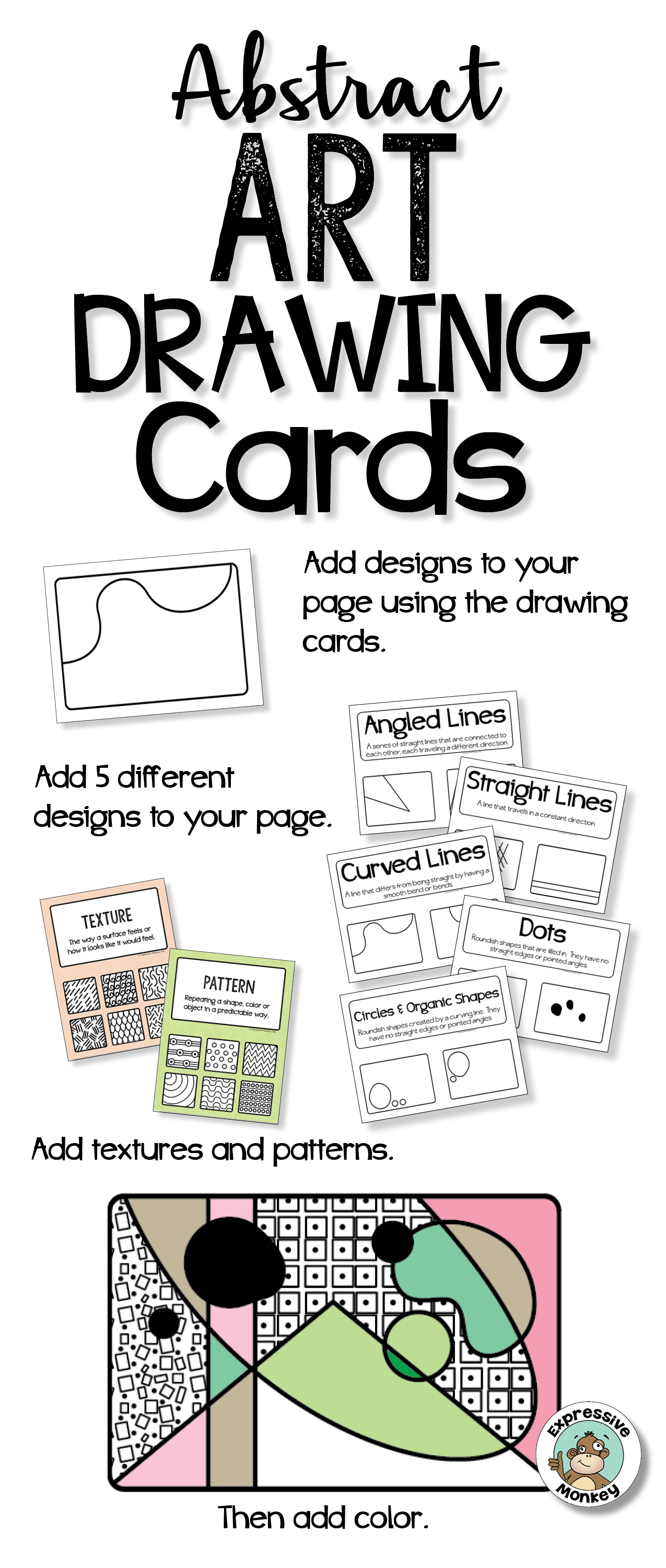 Drawing Cards Make A Great Drawing Or Art Center Activity