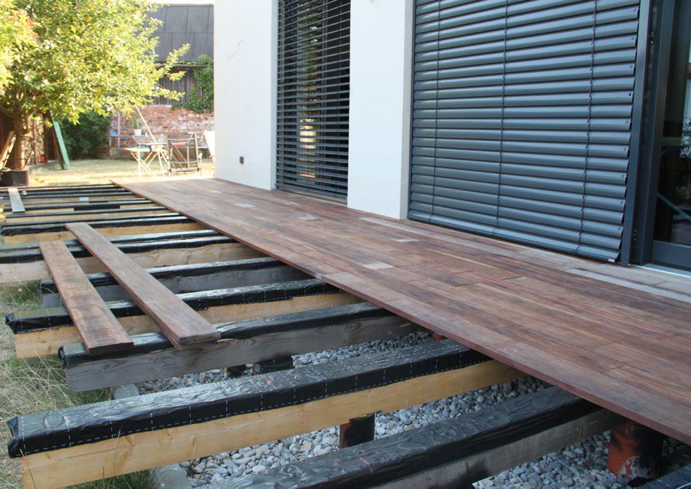 terrassenbelag aus walaba stauseeholz holz design in 2018 pinterest terrasse terrasse. Black Bedroom Furniture Sets. Home Design Ideas