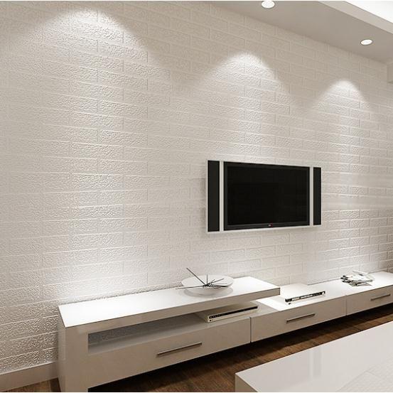 Dining Room 3d Modern Design PVC Wallpaper Roll Background