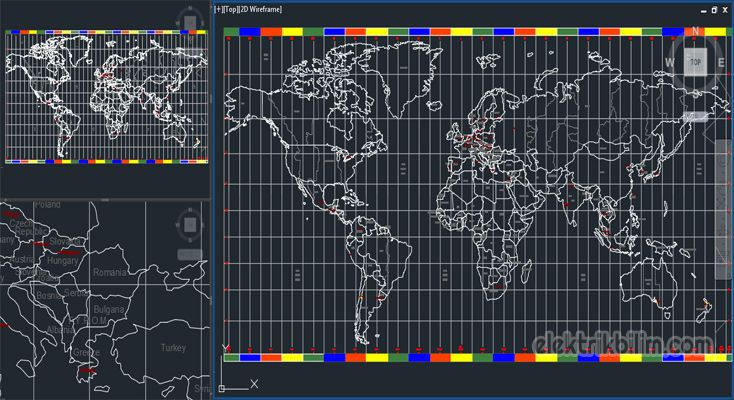 Figures of Soccer Players in Autocad ; Footballers - soccer player - new world map cad free