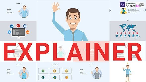 Videohive Explainer Video Toolkit  Free Download