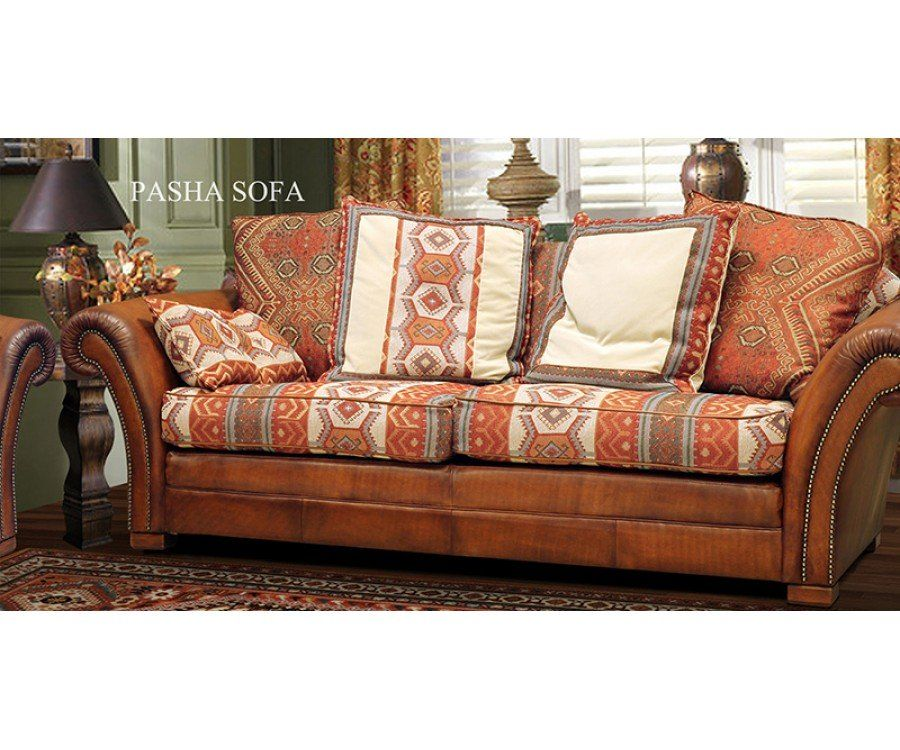 Leather Sofas In Lahore: Tetrad International - The Pasha Sofa